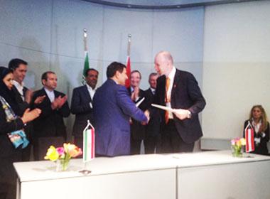 امضاء تفاهم نامه ايران (فكور صنعت تهران) و اتريش (Primetals Technologies)