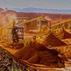 کارخانه خردایش و دانه بندی و پرعیارسازی سنگان