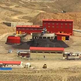 کارخانه فرآوری سنگ آهن هماتیتی فکور صنعت تهران