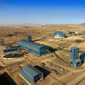 كارخانه كنسانتره سنگ آهن شرکت صنعتی و معدنی توسعه فراگیر سناباد