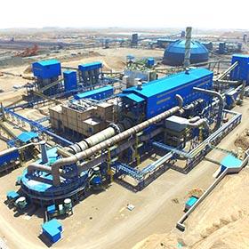 كارخانه گندله سازی شرکت صنعتی و معدنی توسعه فراگیر سناباد