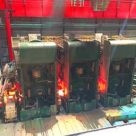 احداث كارخانه فولاد سازی و نورد ورق گرم