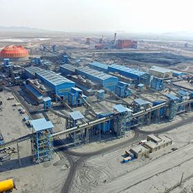 توسعه و ارتقاء کیفیت خطوط 7،6،5 کنسانتره سنگ آهن گل گهر