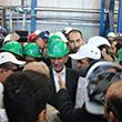 افتتاح کارخانه کنسانتره سنگ آهن شرکت معدنی سنگان توسط معاون اول رییس جمهوری